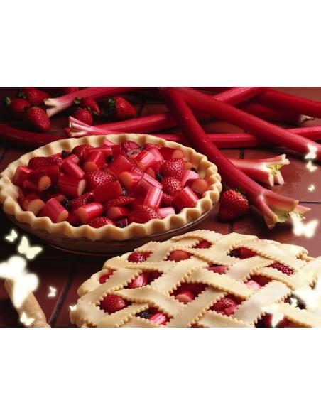 Fraises Rhubarbe